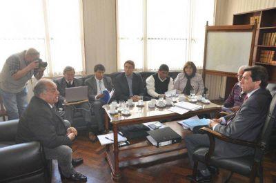 Gobierno recibió a delegados de Upcn