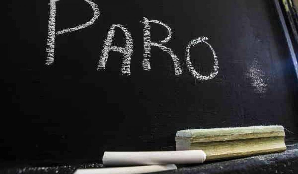Alto acatamiento al paro docente en nuestra ciudad