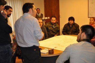 Margen sur: El Municipio colaborar� con la regularizaci�n dominial de los nuevos barrios