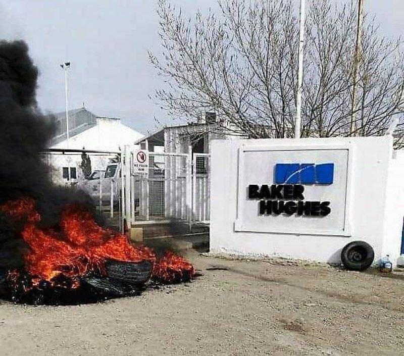 El d�a m�s temido: Empezaron a despedir masivamente en una petrolera