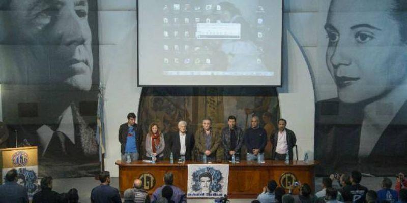 Muy emotivo homenaje de la Juventud Sindical a Felipe Vallese, el primer detenido-desaparecido de la Argentina