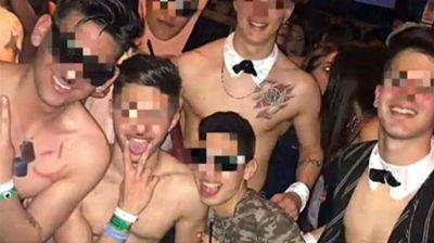 Sancionarán a los estudiantes que se disfrazaron de nazis