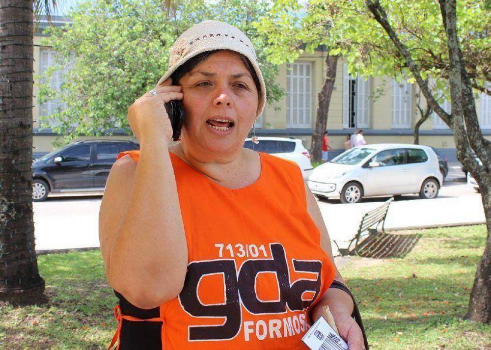 """Nilda Patiño: """"Queremos que haya paritarias"""""""
