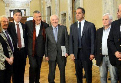 Oscar Lamberto asumió la presidencia de la Auditoría General de la Nación