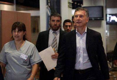 Macri se realizó estudios en su rodilla operada