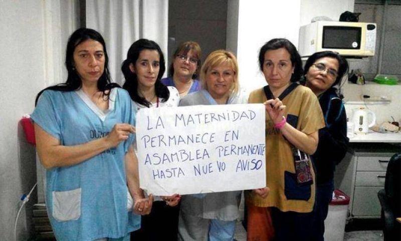El Gobierno ofrece mejoras salariales para destrabar conflicto de enfermeros del Maternal Meisner