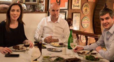 La alianza con Massa monopoliz� la cumbre de Pe�a, Larreta y Vidal