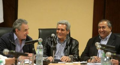 Audiencia con Prat Gay y Triacca