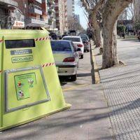 Contenedores para residuos reciclables