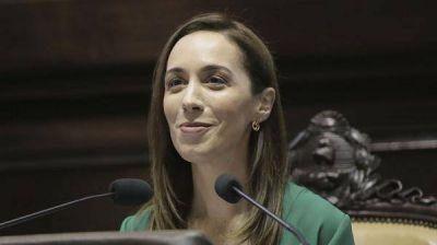 Repudio a los amenazas sufridas por la gobernadora Mar�a Eugenia Vidal