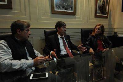 Abal Medina vino a La Plata y habl� de �renovar el PJ�