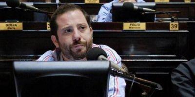 Ottavis dejó de lado el show y volvió a su rol de diputado con un pedido a Vidal