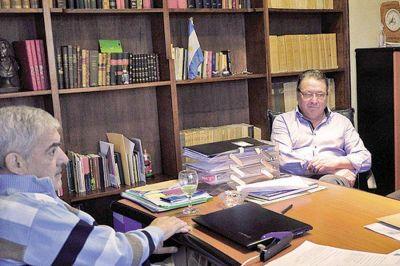 Das Neves recibió al titular de la conducción nacional de ATE