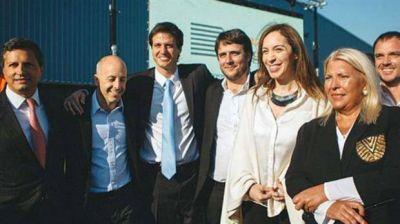 Mar�a Eugenia Vidal anunci� inversiones en Pilar acompa�ada por Elisa Carri�