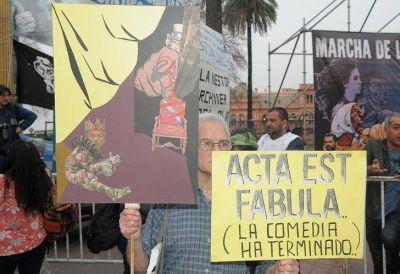 Marcha de la resistencia: Macri y Marijuan, los principales apuntados