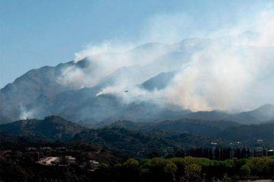 El Presidente manifest� su acompa�amiento por los incendios en San Luis