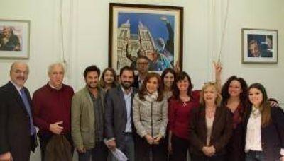 Los legisladores del FpV se reunieron con Cristina Fern�ndez