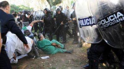 Represi�n en Borda: Sobreseyeron a Macri, Vidal y Larreta