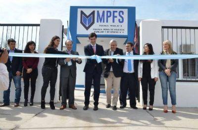 Juan Manuel Urtubey inauguró el nuevo edificio de la Fiscalía Penal N°8 en Barrio Solidaridad
