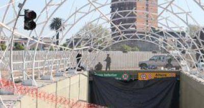 El túnel de la calle Córdoba se inaugurará recién en septiembre