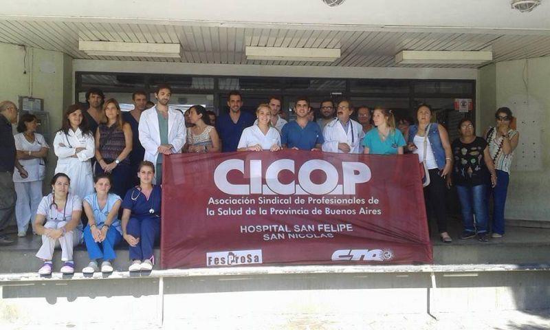 Profesionales de la salud parar�n el pr�ximo viernes en hospitales