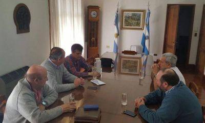 Altolaguirre se reunió con legisladores nacionales