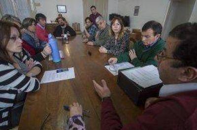 Reunión con SOEMPA por el pedido de derogación de la ordenanza de emergencia