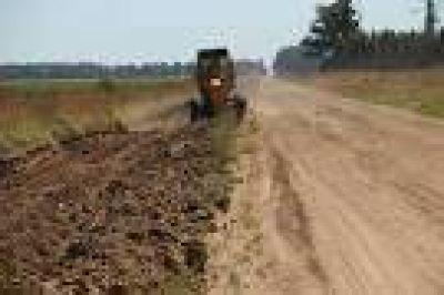 Trabajos en caminos rurales