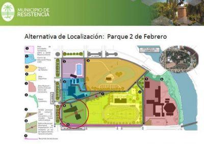 El municipio de Resistencia present� tres propuestas para tener una nueva sede