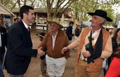 Juan Manuel Urtubey visitó La Rural: anunció medidas de apoyo al campo
