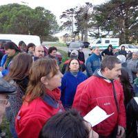 Vecinos cortaron la ruta 11 para pedir que no cierre el Centro de Salud