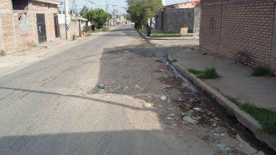 Vecinos del sur de la ciudad piden mantenimiento de las calles