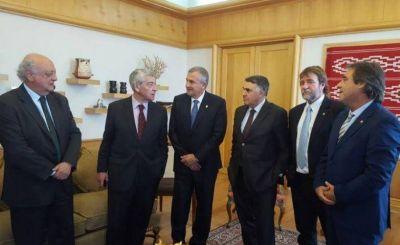 LITIO, EL FERROCARRIL TRASANDINO Y EL PASO DE JAMA, TEMAS PRIORITARIOS DE LA AGENDA DE MORALES EN SANTIAGO DE CHILE