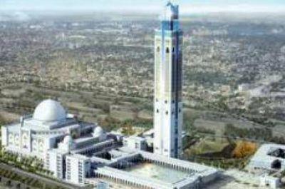 Las obras de la tercer mayor mezquita del mundo concluirán en diciembre en Argel