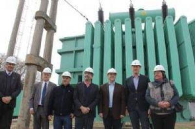 Epec aumentó un 50% la potencia de energía en San Francisco
