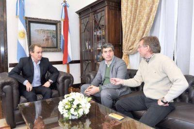 Gustavo Bordet se reunió con los diputados Bahillo y Valenzuela