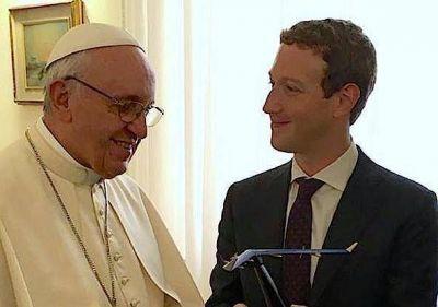 El Papa y el fundador de Facebook focalizan la cultura del encuentro