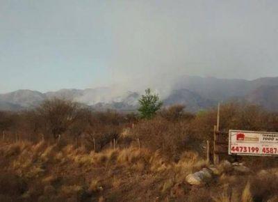 Incendios: son 12 mil las hect�reas quemadas y hay un nuevo foco en Juan Llerena