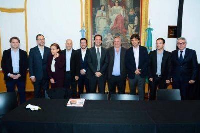 Intendentes del consorcio Regi�n Norte 2 recibieron a la gobernadora Vidal y a inversionistas