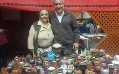 Zara particip� de la 27� edici�n de la Fiesta del mate y la cebada