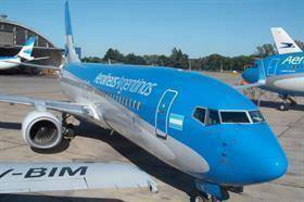 Se tensan las paritarias de Aerolíneas por el plan para reducir el déficit