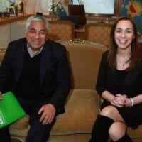 Vidal se reuni� con el intendente de San Pedro, Cecilio Salazar