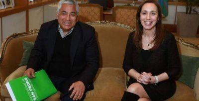 Vidal recibi� una carpeta con las preocupaciones del Gobierno local