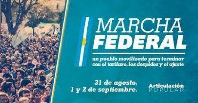 Marcha Federal: hoy conferencia de prensa en la sede de SUTEBA Trenque Lauquen