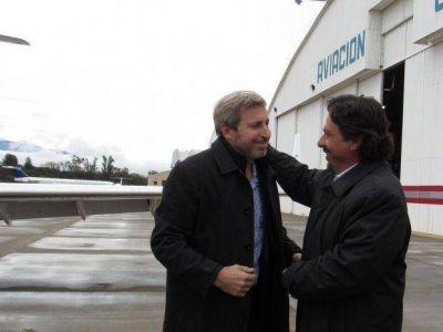 Gustavo Sáenz entabló una reunión con Rogelio Frigerio