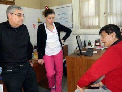 Gasparini se reuni� con Ortiz y le traslad� proyectos para el Hospital