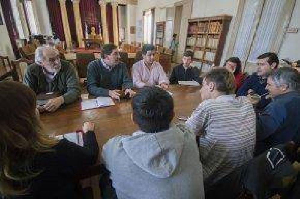 Reunión del Comité del Sistema de Transporte Público de Azul