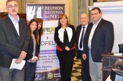 Primera reunión regional del Consejo Federal del Medio Ambiente