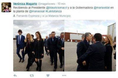 El culebr�n de Manaos: Vidal, Macri, Magario, Espinoza y un d�a a puro