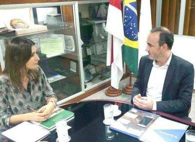 """Caballero: """"Las autoridades de Manaos nos plantean la importancia de trabajar juntos"""""""